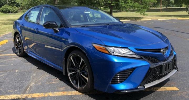New 2018 Toyota Camry XSE V6