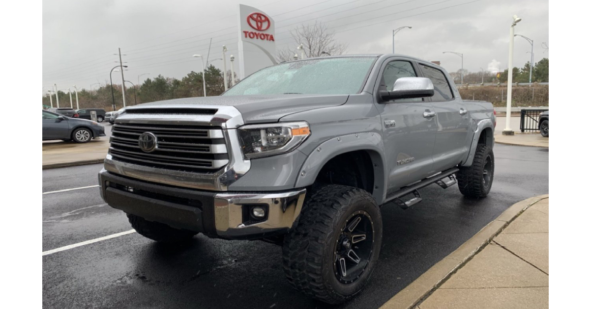 New Jacked-up Toyota Tundra Limited in Akron Ohio