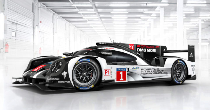 Porsche 919 Hybrid Record-Breaking