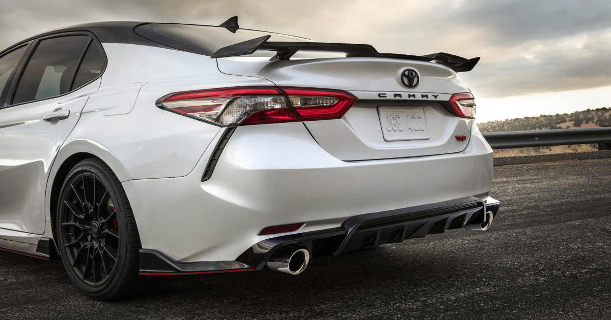 The 2020 Camry TRD
