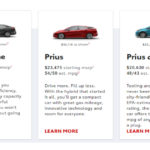 The Difference Between Toyota Prius Models