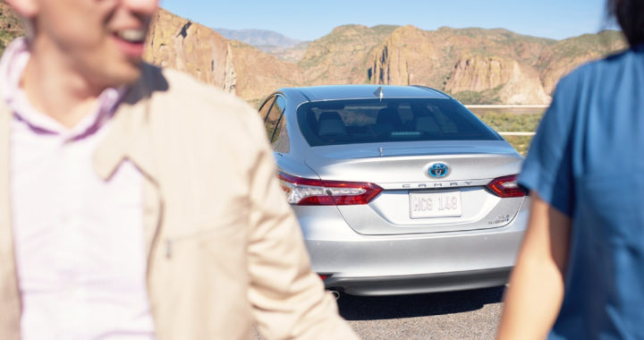 Toyota Camry Hybrid ranked Number 1