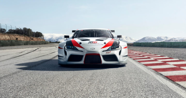 Toyota Unveils GR Supra Racing Concept