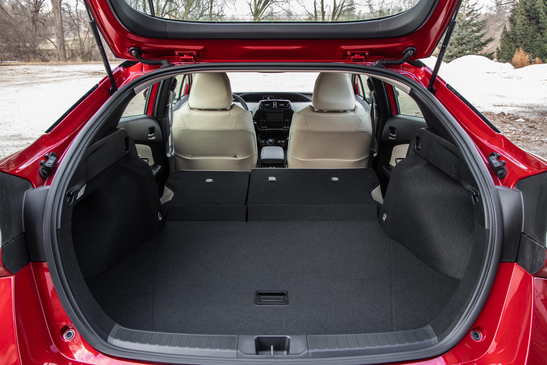 2019 Prius AWD-e Cargo Space
