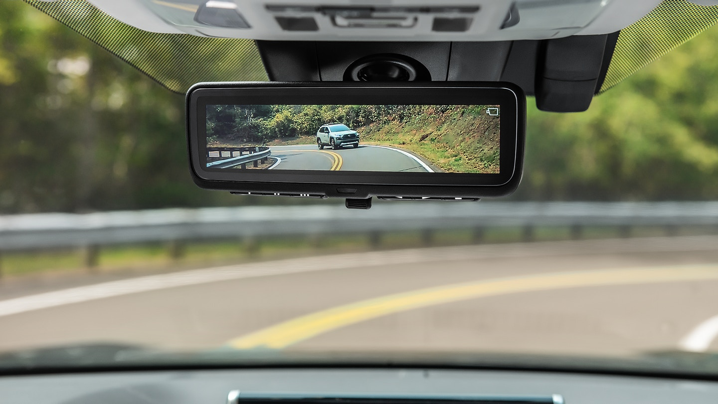 2019 Rav4 Digital Rearview Mirror