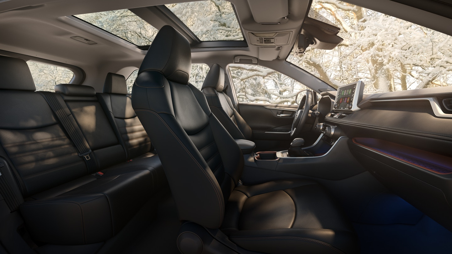 2019 Rav4 Panoramic Glass Roof