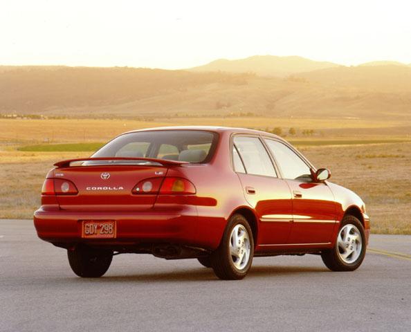 Corolla Eighth Generation: 1998-2002